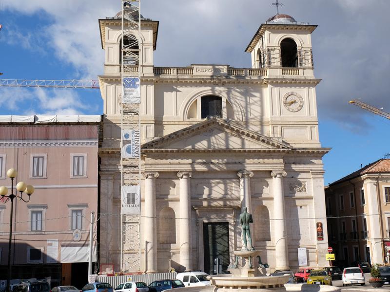 l'aquila_Cattedrale dei Santi Giorgio e Massimo