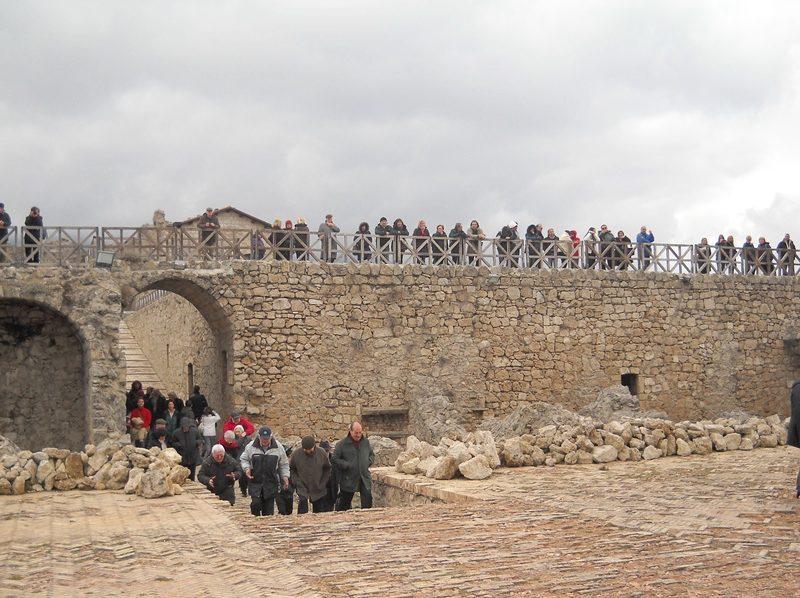 Fortezza Turisti in visita